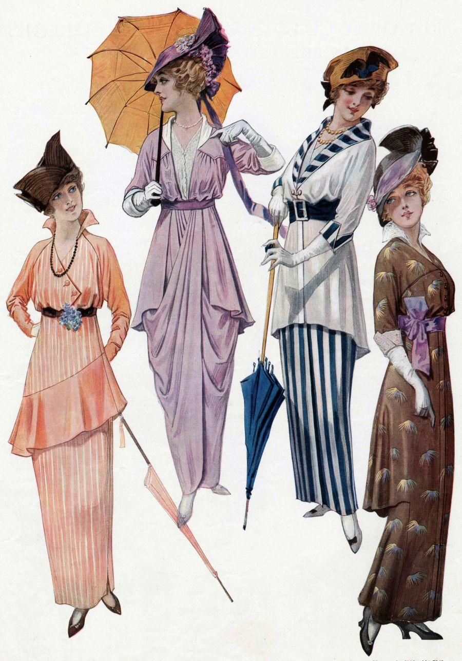 moda 1910