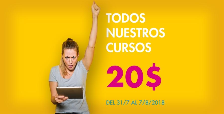 20$ TODOS NUESTROS CURSOS